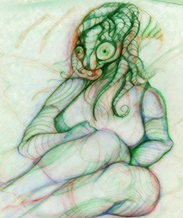 Bug Girl - alien, creepy, bugs - jeremieduval | ello