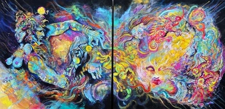 Cosmic Union - djembecanvas | ello