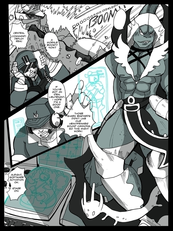 page comic competition entervoi - tofuplusbeast | ello