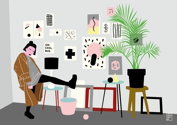 Studio - illustration, studio, gallery - sonyakorshenboym | ello