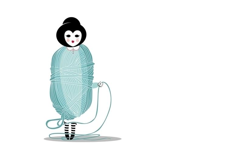 ilustracion, ilustraciondigital - agentemorillas | ello