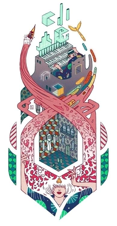 Musical composition - music, illustration - nicolascastell | ello