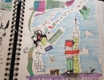 sketchbook, doodle, doodles, marker - catsnodgrass | ello