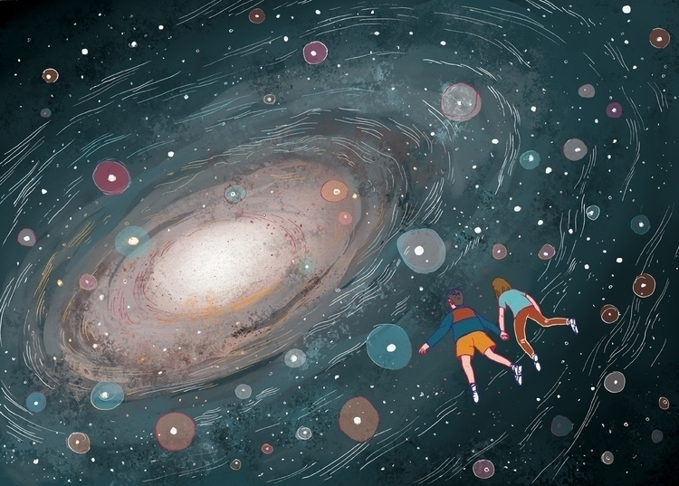 Vuela, Ivan. Universe - children - nicolascastell | ello