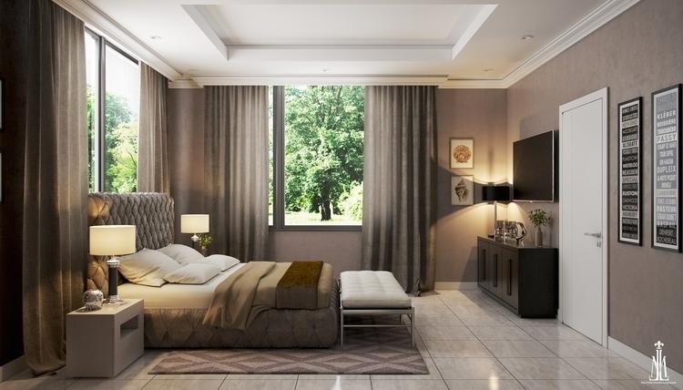 Guest room design - arqmarenco | ello