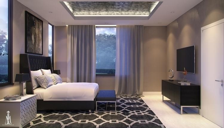 Guest room design - 3d, 3drendering - arqmarenco | ello