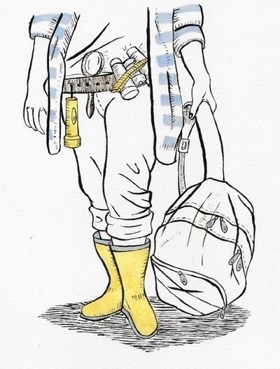 Harriet Spy illustration - Harrietthespy - kaytiespellz | ello