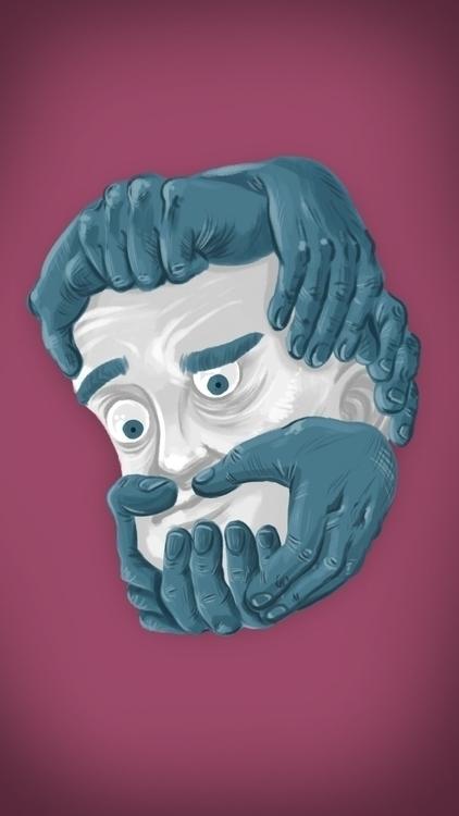 Doodle poor souls grow beards - noshavenovember - thisjustine | ello