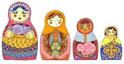 Nesting dolls - nestingdolls, russiandolls - kaytiespellz | ello