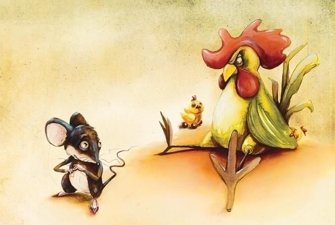 illustration - maukins | ello