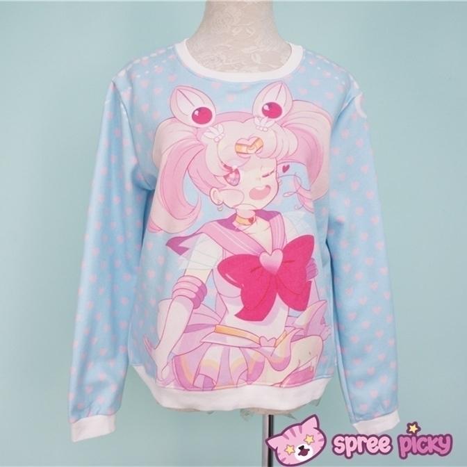 sailor moon sweater designed sp - princessmisery   ello