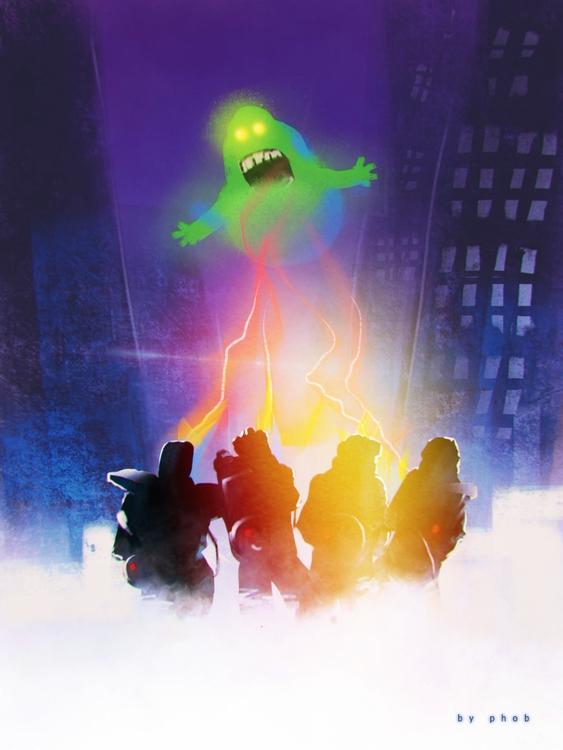 ghostbusters - procreateapp, ipad - phob | ello