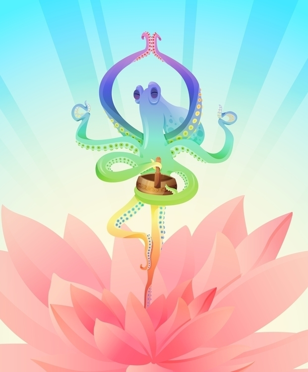 Octopus Adventures Yoga Master - dashikka | ello