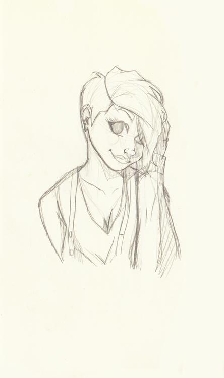 sketchbook, portrait - kelsonouveau | ello
