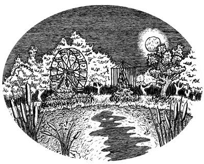 lakeshawnee, penink, ink, ferriswheel - kaytiespellz | ello
