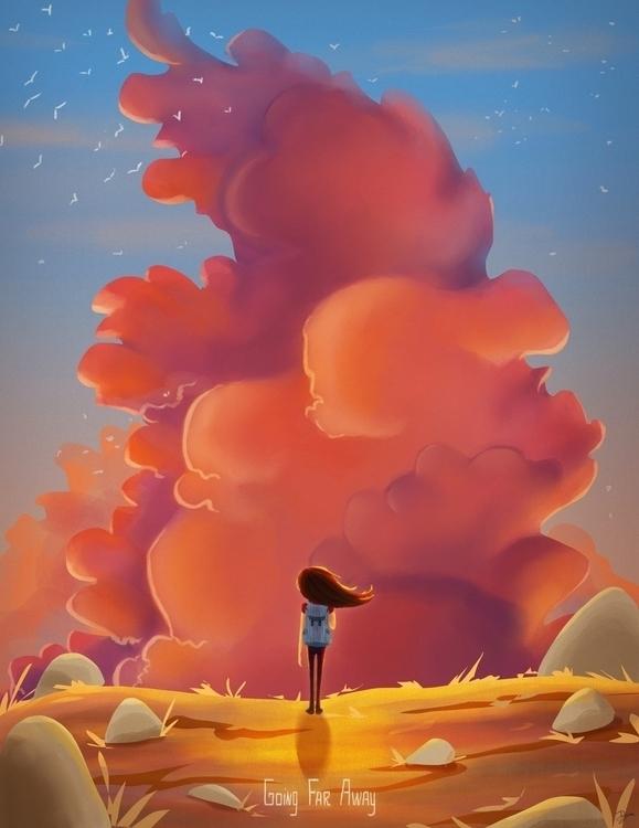 landscape, cloud, travel, traveling - amdeguire | ello