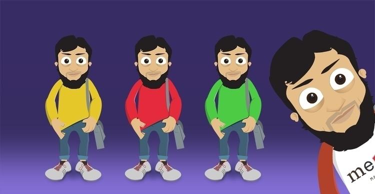 Mascot - illustration, mascot, characterdesign - mfaizanattique | ello