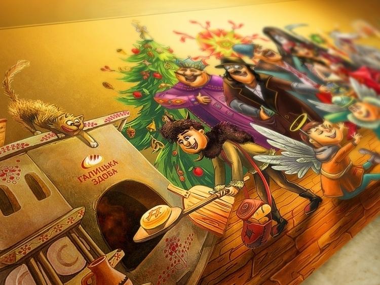 Greeting card Christmas traditi - natalytsiapalo   ello