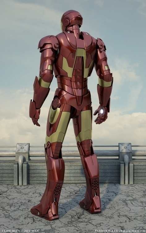 Iron Man Art View 2 - ironman - farrukh-1236 | ello