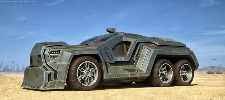 Concept Art Heavy Truck - conceptart - farrukh-1236 | ello