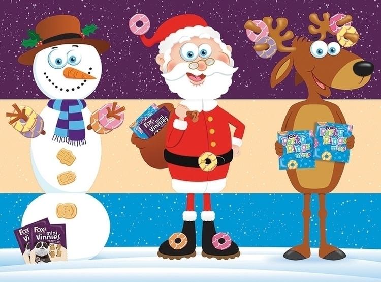 Christmas Packaging illustratio - ianrward | ello