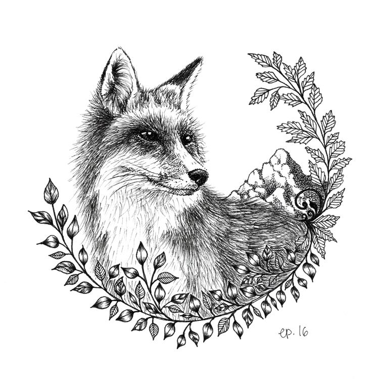 Inspired movie Wild. fox plays  - ellenparzer | ello