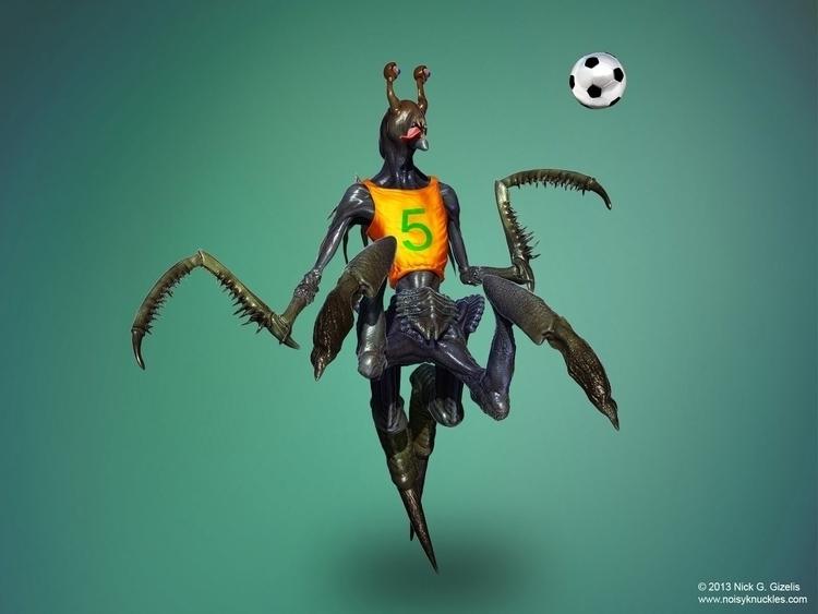 Alien Football Player - alien, football - aumakua   ello