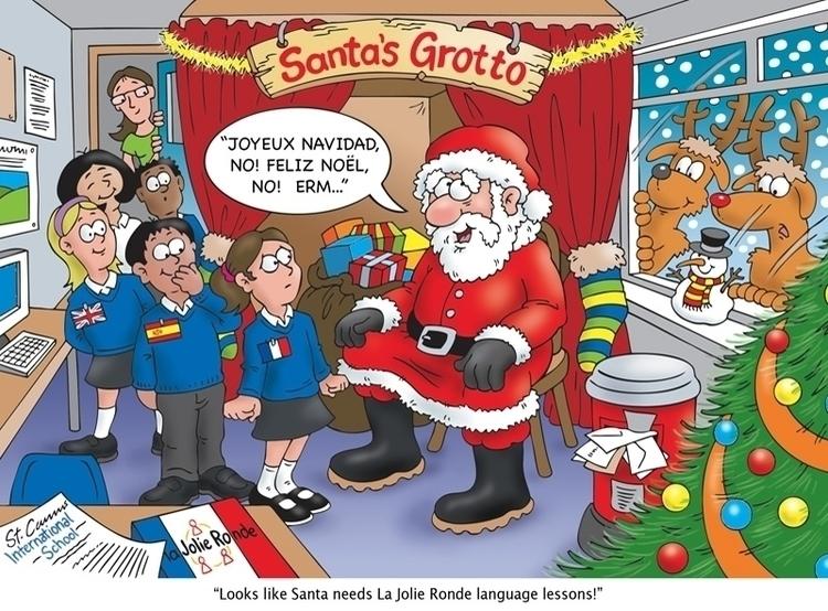 Christmas Card Illustration lan - ianrward   ello