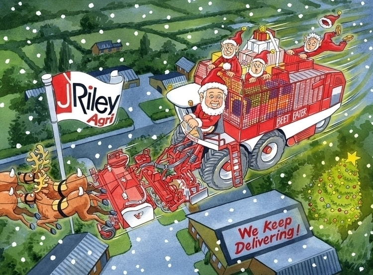 Christmas card harvester compan - ianrward | ello