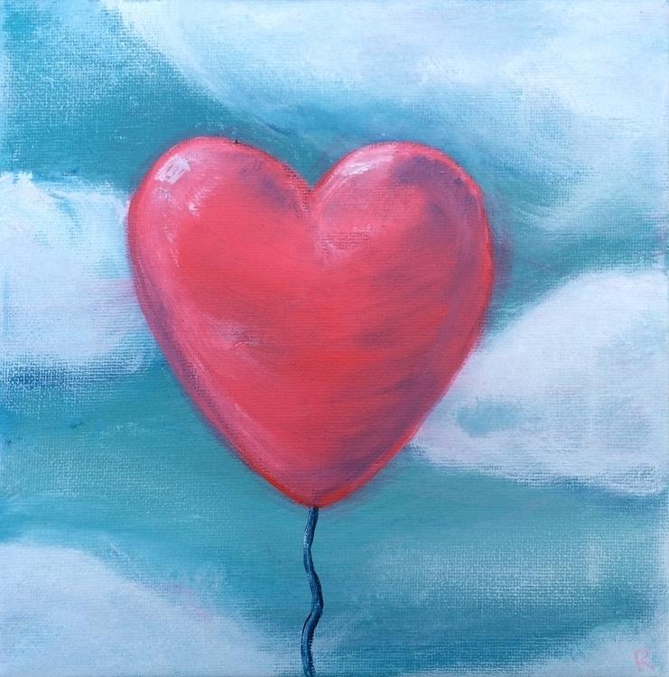 Love - painting, love - rutgervandeelen | ello