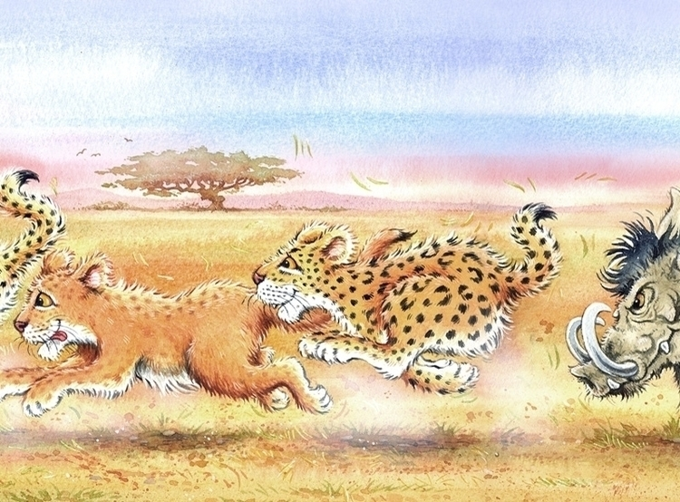 Big cats illustration book - children'sbook - ianrward | ello