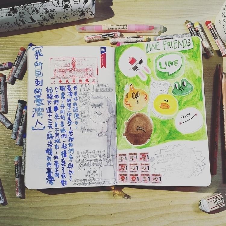 watercolor drawings Taiwan trip - cynthiaxing | ello