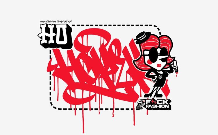 Sexy Téton - illustration, characterdesign - hoper420 | ello
