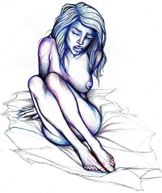 figure drawing - figuredrawing, woman - jeremieduval | ello