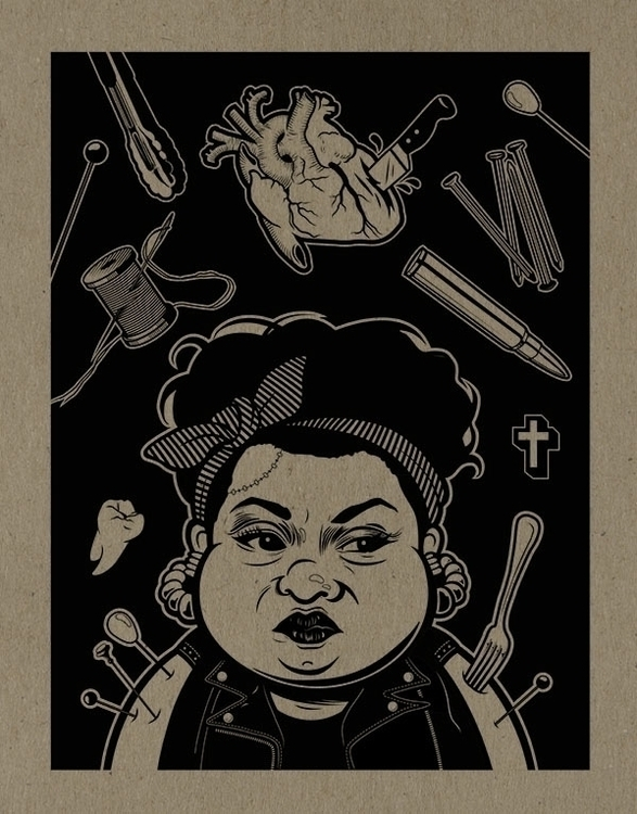 Leave // Illustration Gabourey  - damorgue | ello