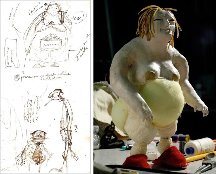 characterdesign, clay, sculpting - ilaria-5773   ello