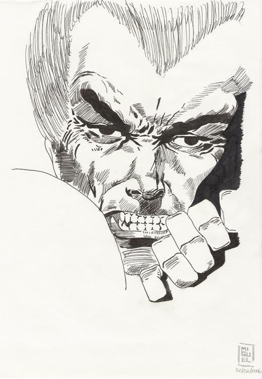 Wolverine, Frank Miller - illustration - miguelcoelho | ello