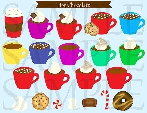 Hot Chocolate Clip Art - illustration - bridgetpavalow | ello