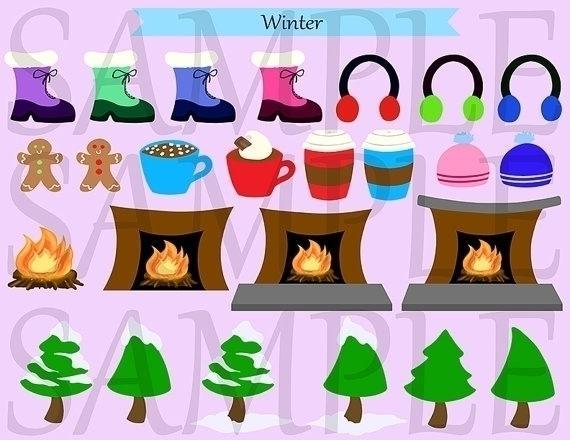 Winter Clip Art - clipart, cliparts - bridgetpavalow | ello