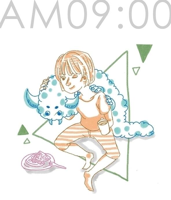 illustration, painting, characterdesign - leouche   ello