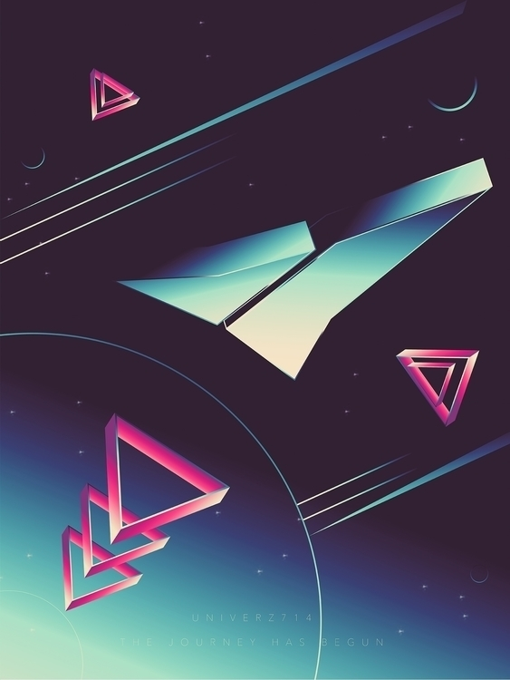 7 1 4 - art, design, abstract, space - univerz | ello