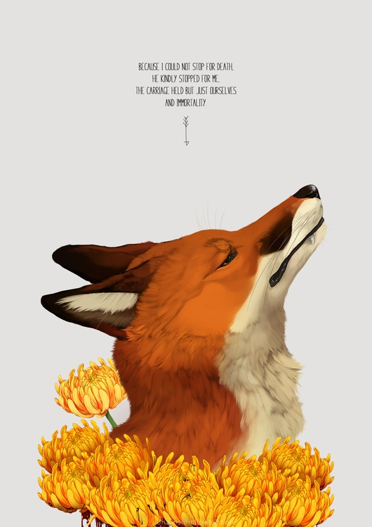 vent art bit favorite poems - fox - uru-1113 | ello