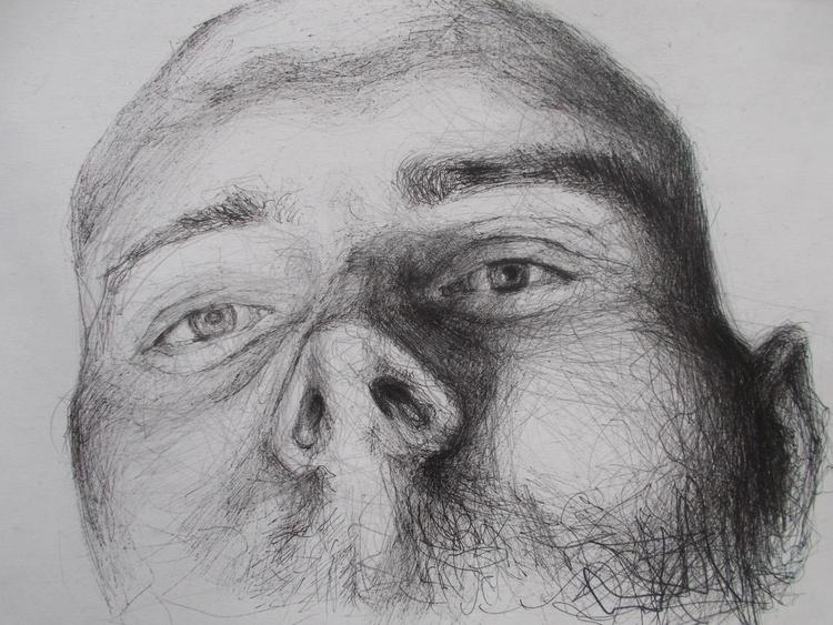 Autoportret 3.'' ; hemijska olo - ivanmitic   ello