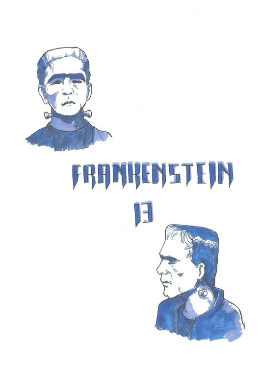 13 Frankenstein - illustration, conceptart - hotshots2000 | ello