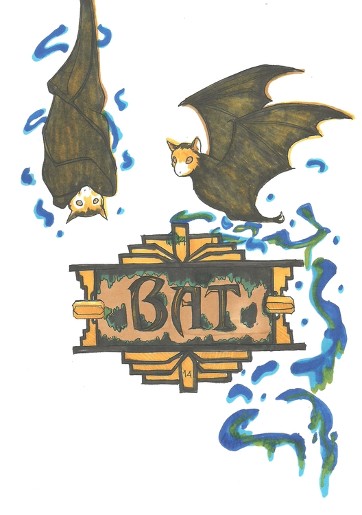 14 Bat - illustration, conceptart - hotshots2000 | ello