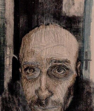 Selfportrait;kombinovana tehnik - ivanmitic | ello