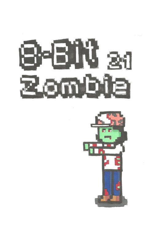 21 8-Bit Zombie - illustration, characterdesign - hotshots2000   ello
