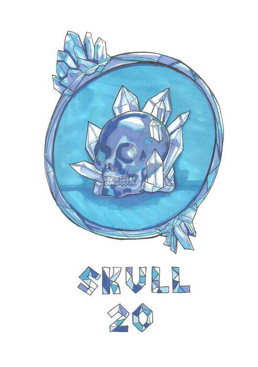 20 Skull - illustration, conceptart - hotshots2000 | ello