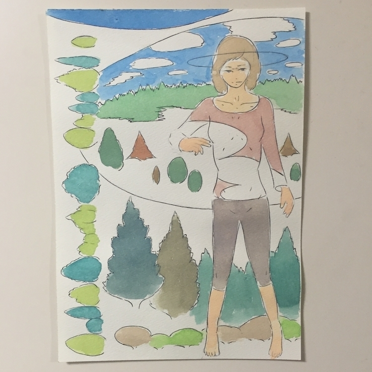 07/01/2016 - drawing, watercolor - yusukesugiyama | ello