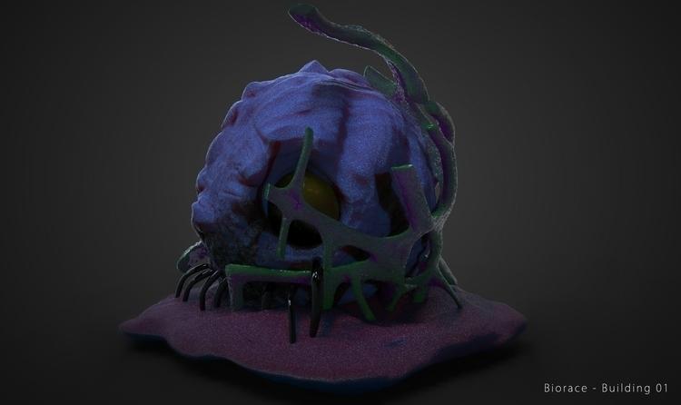 Alien Structure (Prototype - gameart - kimkiao | ello